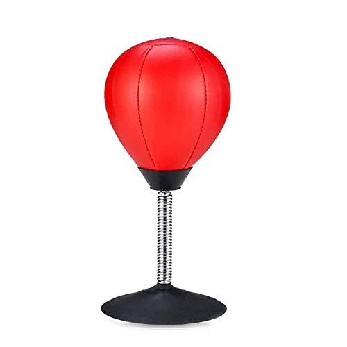 gongxi Desktop-Boxsack - Schreibtisch Tisch Boxing Speed Punch Ball Mit Extra Starkem Saugnapf Und Pumpe, Stress Buster Relief Office Geschenke Für Erwachsene