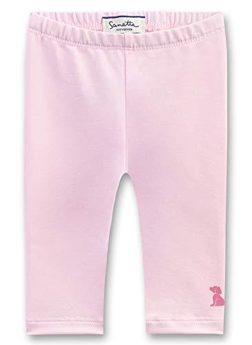 Sanetta Baby-Mädchen Leggings, Rosa (Magnolie 3609), 74 (Herstellergröße: 074)