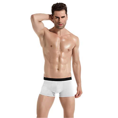 Heren Ondergoed Sexy Mannen S Ondergoed Katoen Boxer Man Ademende Effen Flexibele Shorts Boxer Onderbroek (Pack van 3)