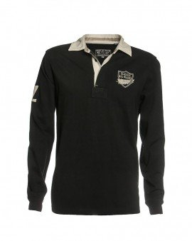 Classic All Blacks Polo Manches Longues World Cup 2015