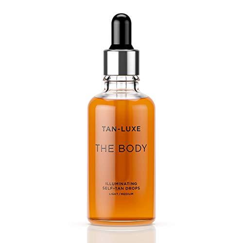 TAN-LUXE The Body - Illuminating Self-Tan Drops, 50ml - Cruelty & Toxin Free - Light/Medium