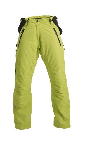 Fifty Five Skihose Snowboardhose Herren Laval Gelb Grün 58 (3XL) Thermohose Wasserdicht Winddicht Atmungsaktiv