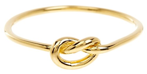 Sterling Forever - Love Knot Ring in Gold Vermeil, Knot Ring, Promise Ring, Sterling Silver Base (7)