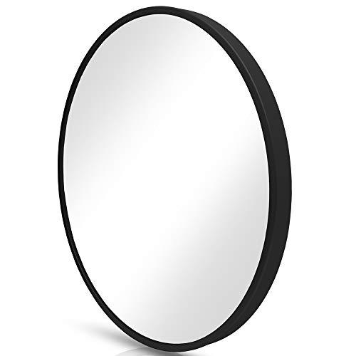 Homefeeling Premium Spiegel Rund - vielseitig Einsetzbar Dank schönem Design - Eleganter runder Spiegel mit einfache...
