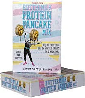 Trader Joe's Buttermilk Protein Pancake Mix 16 oz (Pack of 4)