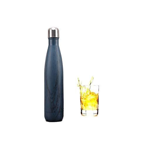 Local Makes A Comeback -Botella de Agua Doble Pared para de Vacío Mantener tus Bebidas Frías por 24 Horas y Calientes por 12 Horas, Wave, 500ml