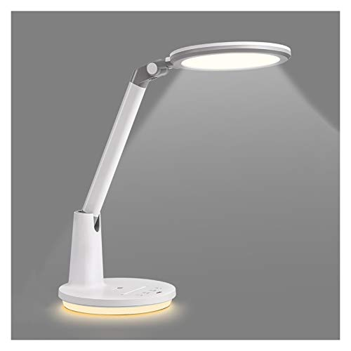 Lámpara Escritorio LED Lámpara de escritorio de 19W LED con atenuación deslizante, momento automático y lámpara de escritorio de control táctil fotosensible inteligente para la oficina de la oficina e