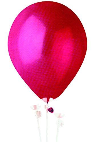 Sachet 100 Tiges A Ballons 40Cm Env. Plastique