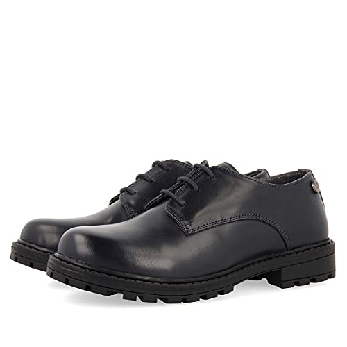 Zapato colegial Azul Marino para niño VORU