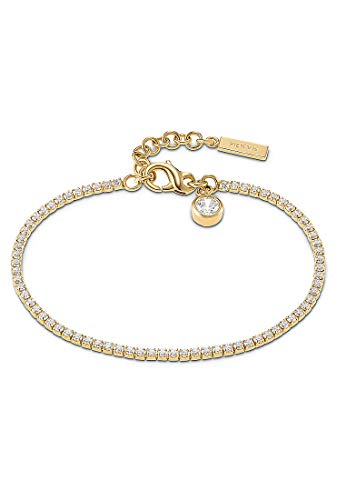 JETTE Silver Damen-Armband 925er Silber One Size Gold 32010172