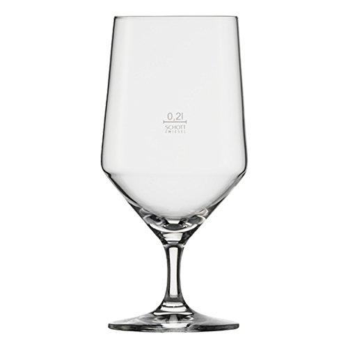 Schott Zwiesel Pure Wasser-Glas, transparent, 8.4 cm, 6