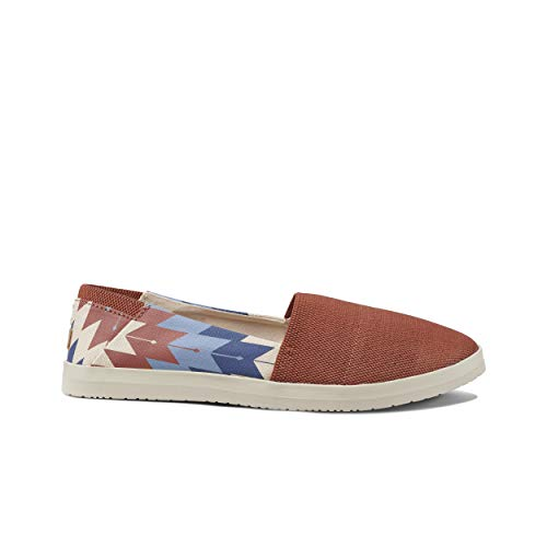 Reef Damen Rose Prints Slip On Sneaker, Mehrfarbig (Rust Rust), 41 EU