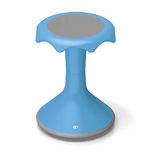 VS America Hokki Stool Flexible Ergonomic Seating 18' - Light Blue