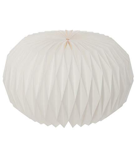 AC-Déco - Lanterna rotonda in Origami - D 44 x H 25,5 cm