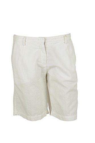 Massimo Alba Women's Miro Four Pocket Bermuda Shorts White 40