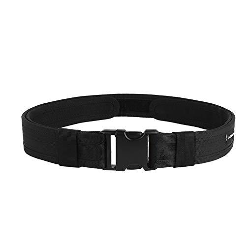 DONGKER - Cintura tattica, 3,8 cm, resistente, lunghezza 150 cm, in nylon 600D, con fibbia in metallo a sgancio rapido, unisex, per uomo e donna