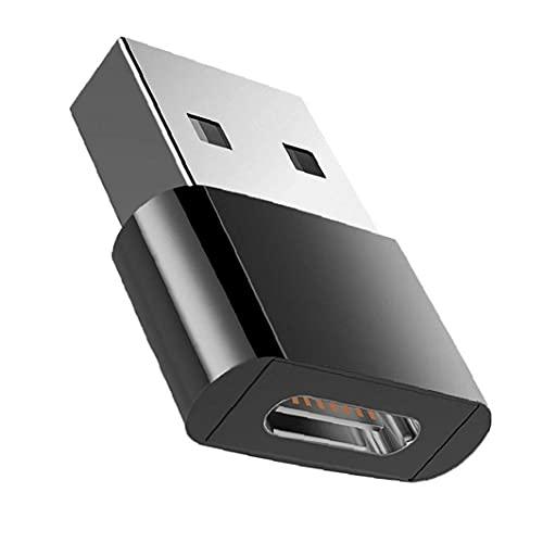 Eaarliyam Tipo C a un convertidor de Cable de Cargador USB C Socket en Conector Conector USB Conector de Adaptador