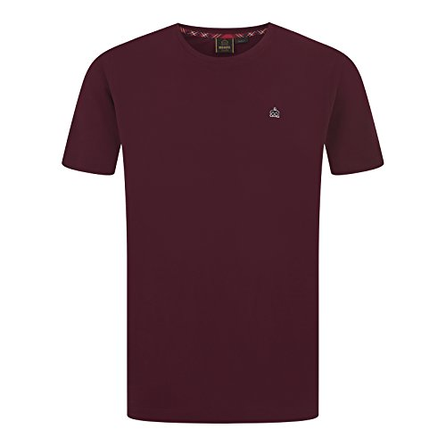 MERC Broadwell light grey marl 100/% cotton T-shirt size medium-XXL
