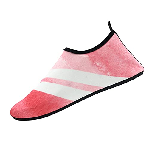 Men's and Women's Water Shoes, Barefoot Quick-Drying Yoga Socks, Outdoor Beach Swimming Shoes, Non-Slip Socks, Beach Sports, Swimming, Surfing (Multi-Color Optional) A-40/41