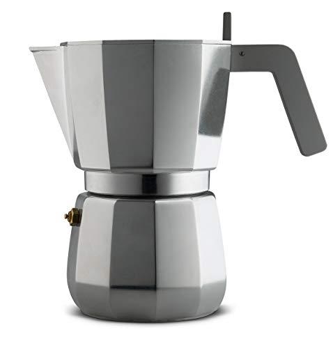 Alessi DC06/9 FM Espressokocher, Edelstahl