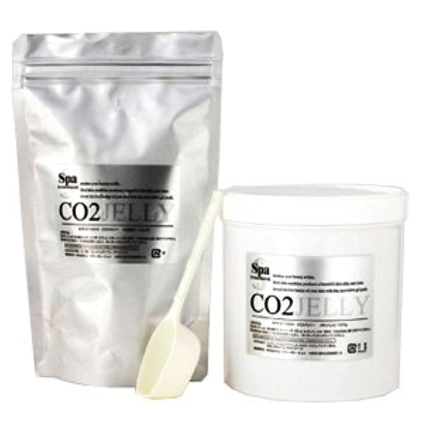 版国民サイバースペーススパトリートメント CO2ジェリーN 40回分 業務用 炭酸パック