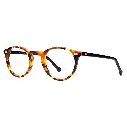 eyeOs Model 'Wise Guy', High Definition, Hypoallergenic, Anti Glare, Men's, Women's, Unisex Readers P3 Round Retro
