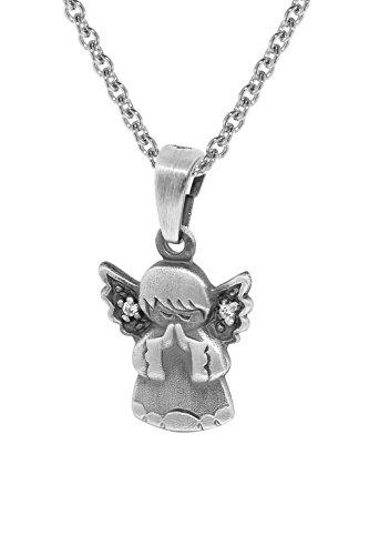 trendor Engel-Anhänger mit Silberkette für Kinder 35872