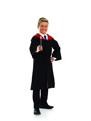 Fun Shack FNK3592L kostuum, Unisex kinderen, tovenaar jurk & wand, groot