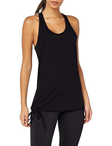 Intimuse intimuse Damen Yoga Tank Top, Camisa de deporte Mujer, Negro (schwarz), 40 (Talla del fabricante: Large)