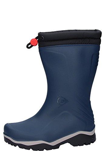 Dunlop Blizzard gefütterte Herren Gummistiefel, Blau (Blue/Grey/Black), 28 EU