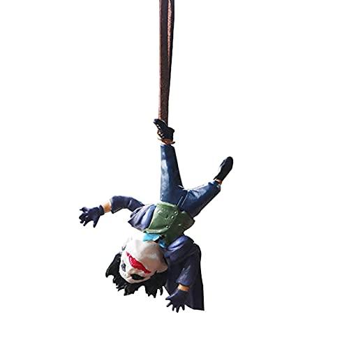 Batman Cavaleiro Das Trevas Joker Jack Boneca Pingente De Carro, Pingente Decorativo Espelho Retrovisor Carro Palhaço
