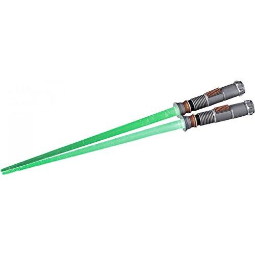 Star Wars Light Up LED Glowing Lightsaber Baguettes EP6 Version (Luke Skywalker)