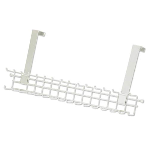 ClosetMaid 1217 Over-The-Door Tie and Belt Rack, White