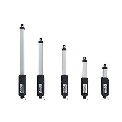 WSCHENG® Empuje 12V actuador Lineal Aleación de Aluminio eléctrico pequeño Varilla Mini...