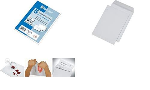 SECURITEX 365550 Versandtasche, B5, weiß, ohne Fenster, 130 g/qm