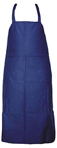 Jah AP-174-NLA Arbeitsschürze 10 Stück Baumwolle A1 Qualität blau