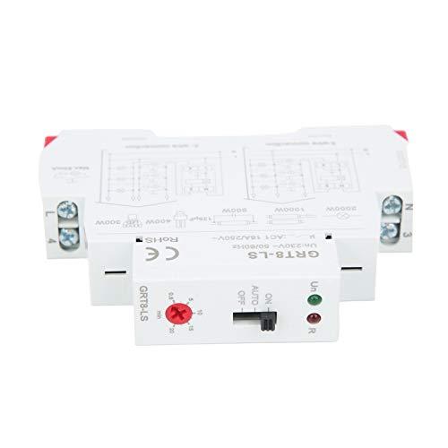 Seguridad tres modos de trabajo, AC230V relé de tiempo, práctico interruptor de escalera de pequeño volumen, suministros industriales para distribución de energía para equipos de control