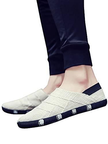 [ネルロッソ] サンダル メンズ スリッポン 靴 シューズ スニーカー 大きいサイズ オフィス カジュアル 軽量 正規品 25.5cm(41) オフホワイト726 cmv24193-41-ow726