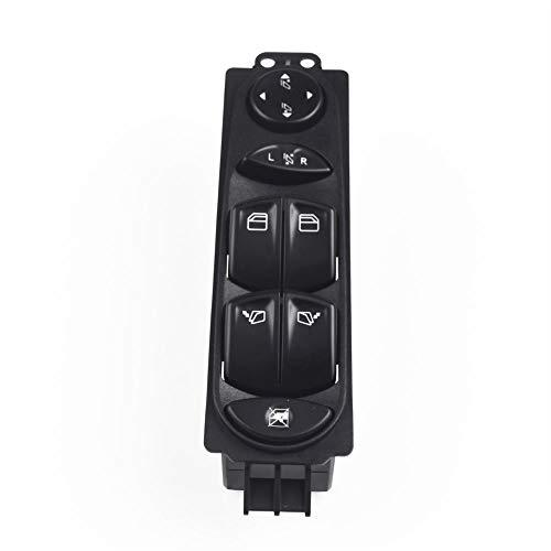 Botonera elevalunas A6395451313 Interruptor de Ventanas eléctrico del Poder del Conductor Delantero 4 Puertas Fit para Mercedes Benz Viano Vito W639