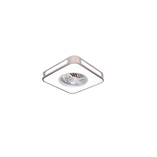 HLD plafondventilator, licht, slaapkamer, woonkamer, woonkamer, LED met plafondventilator, licht, restaurant, kroonluchter, geïntegreerd onzichtbaar plafondventilator, licht