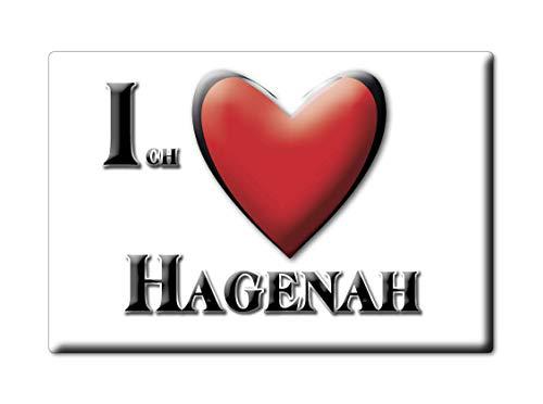 Enjoymagnets HAGENAH (NI) Souvenir Deutschland Niedersachsen Fridge Magnet KÜHLSCHRANK Magnet ICH Liebe I Love