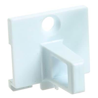 First4spares Door Lock Plastic Catch Hook for Indesit Tumble Dryers (White) from First4spares