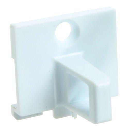 Door Lock Plastic Catch Hook for Indesit Tumble Dryers (White)