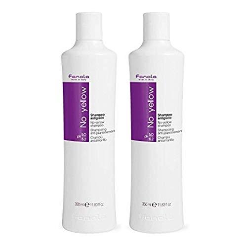 Fanola No Yellow Shampoo 350 ML Pack van 2