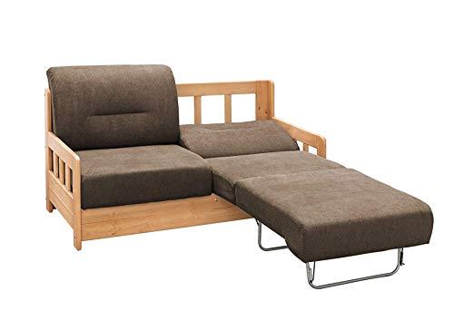 *lifestyle4living Sofa – Landhaus-Stil in Braun*