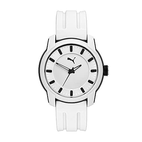 PUMA Herren Puma 2 Three-Hand, Schwarz Polycarbonate Uhr, P6017