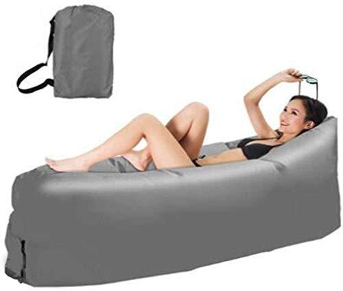Cama de viaje Viajes Bed Aire Sofá, Lazy portátil cama plegable colchón...