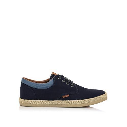 Zapatos Hombre mustang | Zapatos BELIO 84666 | mustang Hombre | Zapatos Plano | Cierre con Cordones | 48932 | Azul | 42