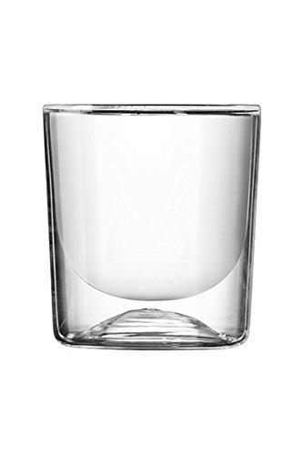Guzzini Lot DE 2 Verres Thermo Double PAROI, Insulating Glass