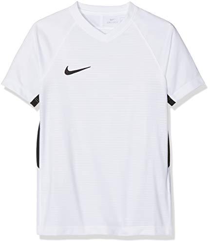 Nike Unisex Jungen Tiempo Premier SS Trikot T-shirt, Weiß (white/Black/100), Gr. XS
